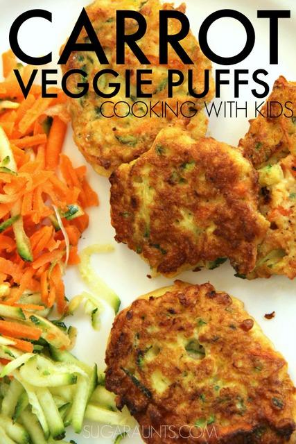 Carrot Veggie Puff Recipe