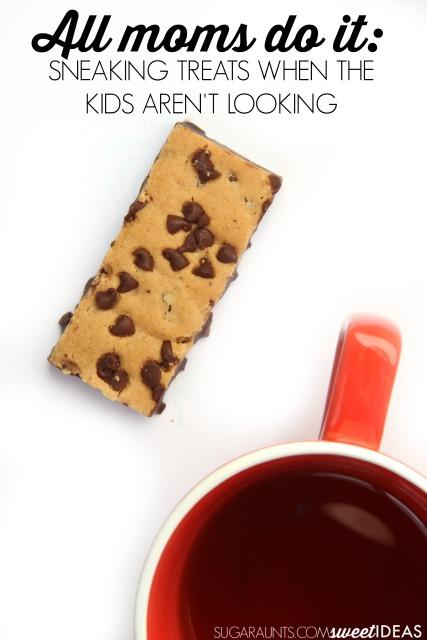 Moms Sneak Chocolate