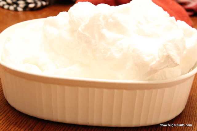 Ivory soap in the microwave for a tactile defensiveness sensory challenge and to use in making fake snow.