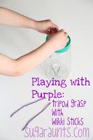 Use Wikki Stix to build hand strenth
