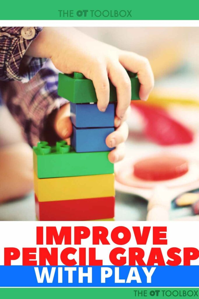 pencil grip occupational therapy ideas for fine motor skills and pencil grasp