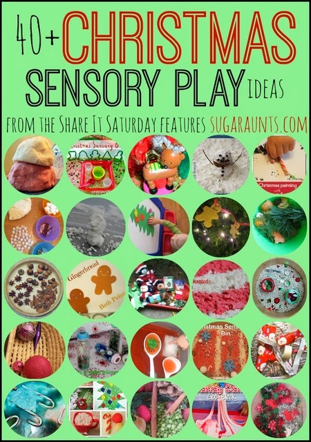 Christmas Sensory Play Ideas for Kids. Sugar Aunts