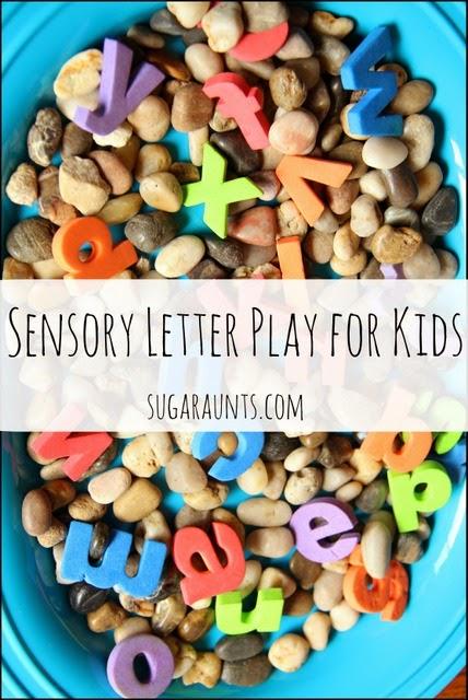 Sensory letter Writing