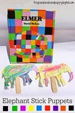 Elmer the elephant craft