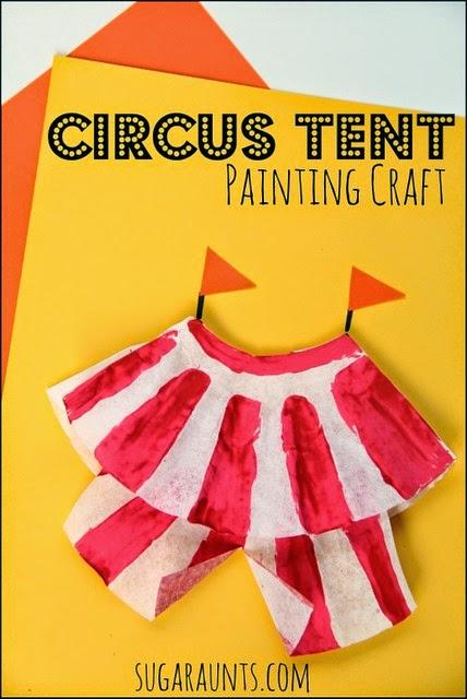 circus craft for kids