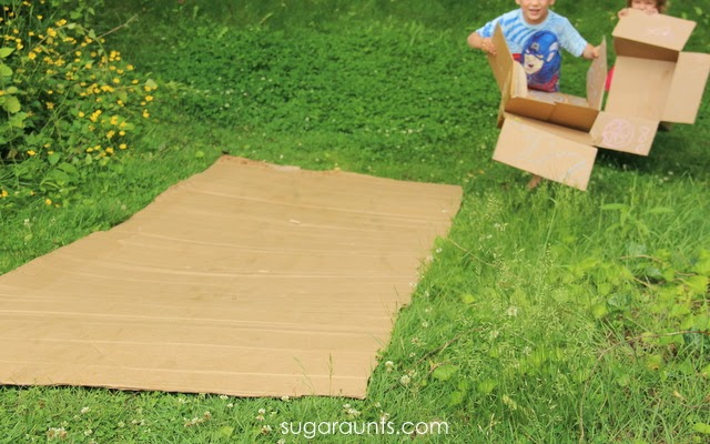 Childhood memories with simple outdoor play.