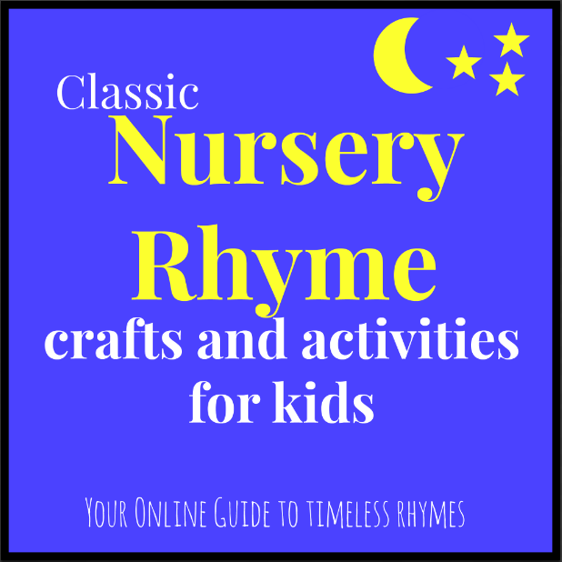 Nursery Rhyme crafts and activities for learning and play