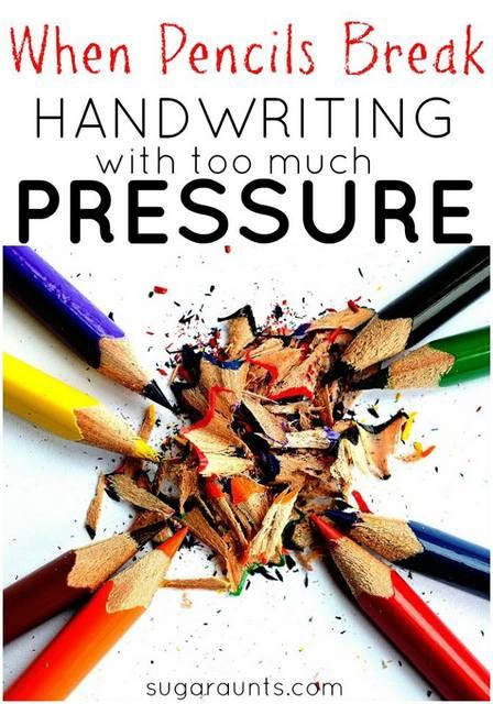 Pencil Pressure in Handwriting