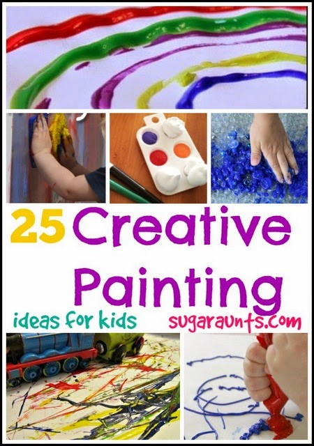 Creative painting craft for kids