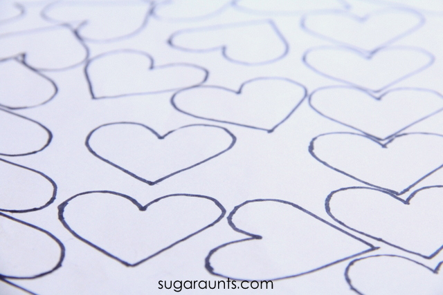 A heart maze is a fun visual perception activity to use in a Valentine's Day theme occupational therapy activities.