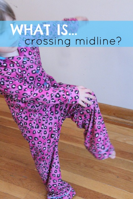 What is crossing midline
