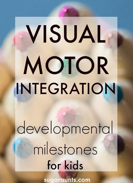Visual Motor integration and developmental milestones