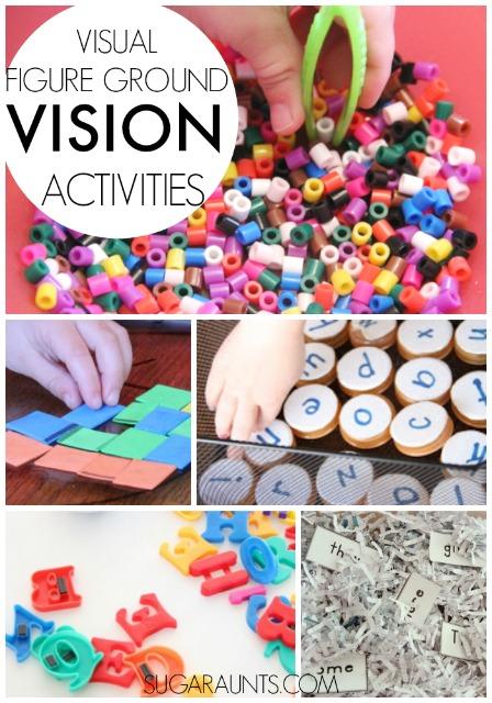 Visual Figure Ground Activities
