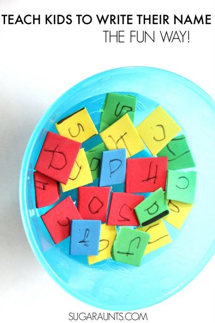 Teach letters activity