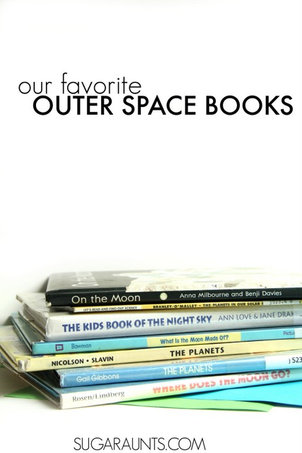 Outer space books for kids