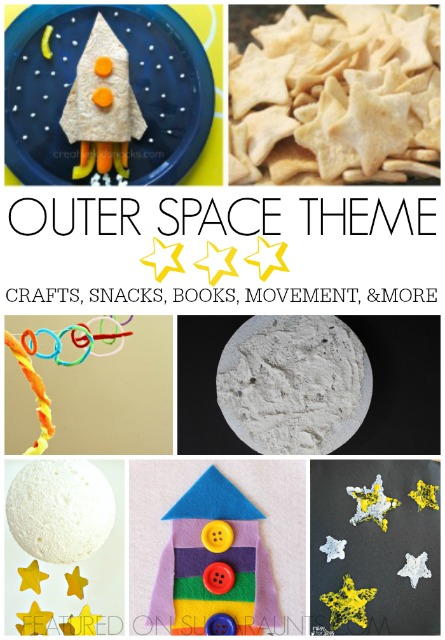 Outer space theme activities for kids