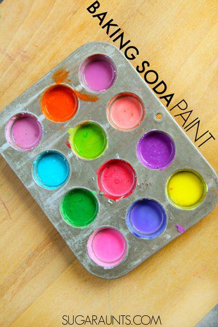 Baking soda paint
