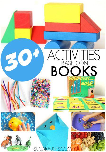 Book activities for kids