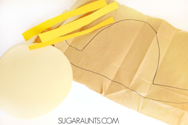 Make this Scarecrow craft this Fall and practice math facts and addition or subtraction.  This is perfect for second grade math or any preschool or elementary age student, and a fantastic scissor skill exercise for kids.
