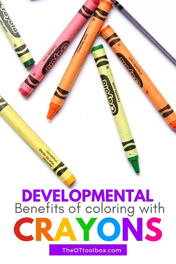 Benefits of coloring in child development