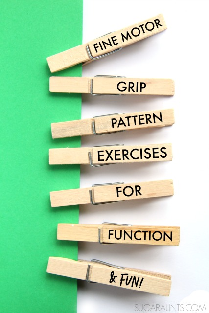 Grip exercises for kids