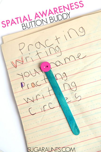 Visual Perception and spatial awareness in kids.  What is Spatial awareness and why do kids have trouble with spacing between letters and words, reversing letters, and all things vision.  Great tips here from an Occupational Therapist, including tips and tools to help kids with spacing in handwriting.