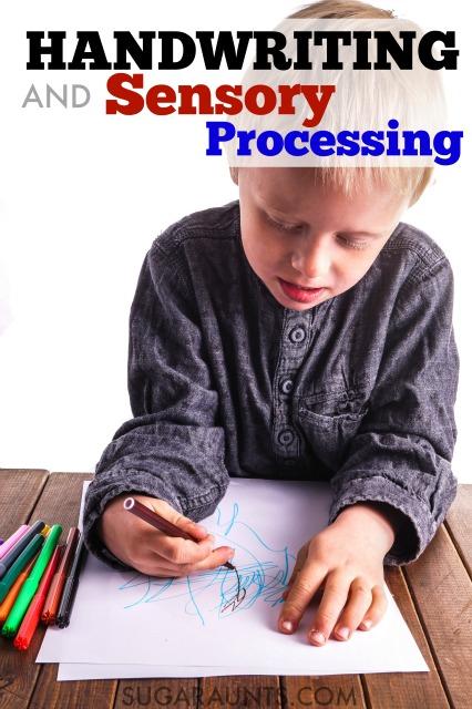 Sensory Processing and Handwriting