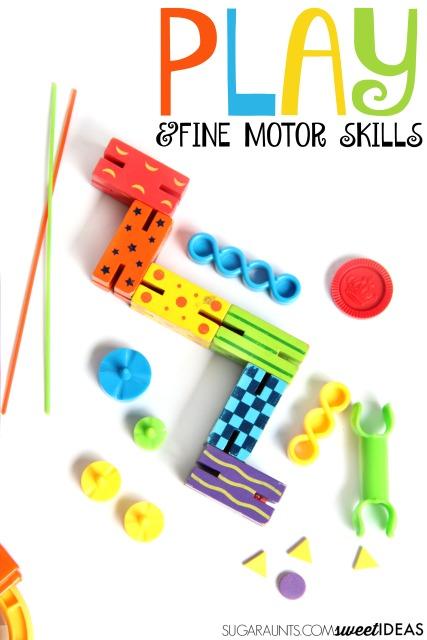 Building fine motor skills through play