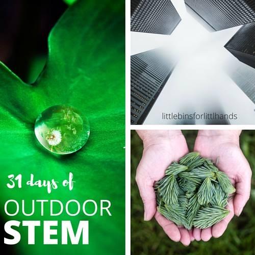 Outdoor STEM ideas