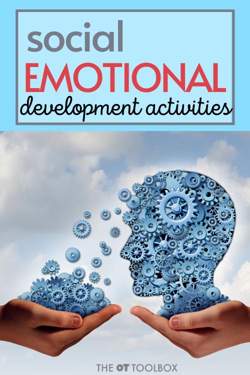 social emotional development activities for kids through book activities.