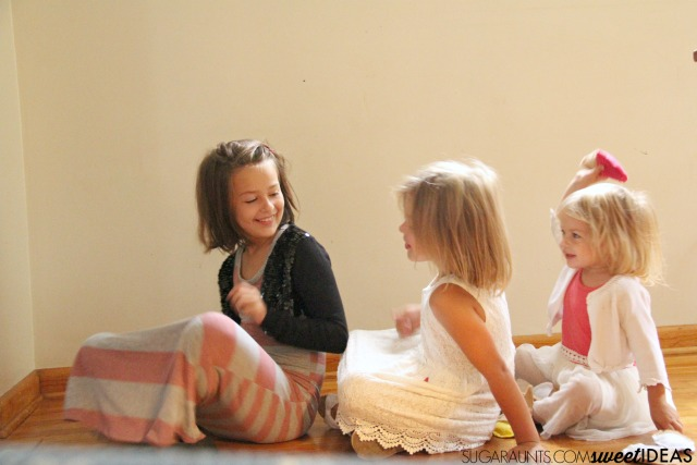 Friendship activities for preschoolers including a Gross motor bean bag game for a group with a friendship theme.