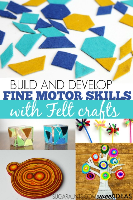Recycled crafts with felt