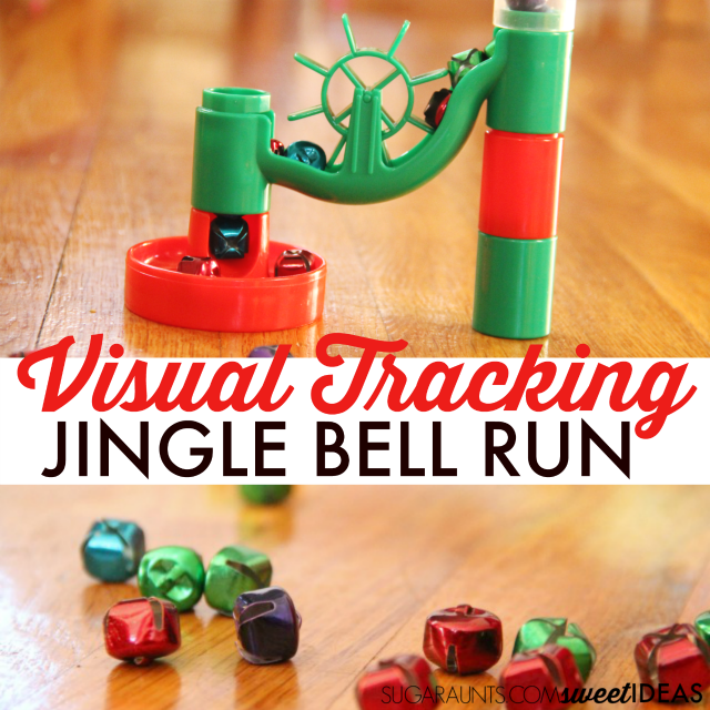 Visual Tracking Marble Run with Jingle Bells