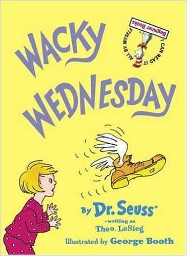 Wacky Wednesday visual perception activity based on Dr. Seuss books