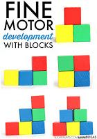 Child Development of grasp using building blocks