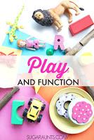 Child's development of play