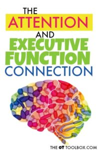Attention activities and executive functioning skills are connected