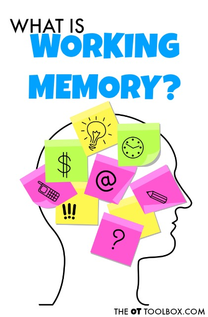 Use these strategies to help improve working memory in kids with sensory processing struggles or executive functioning difficulties.