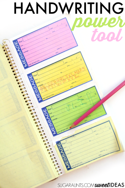 Transfer Paper for Handwriting