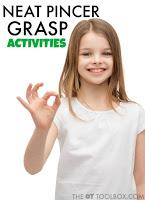 Neat Pincer Grasp Activities