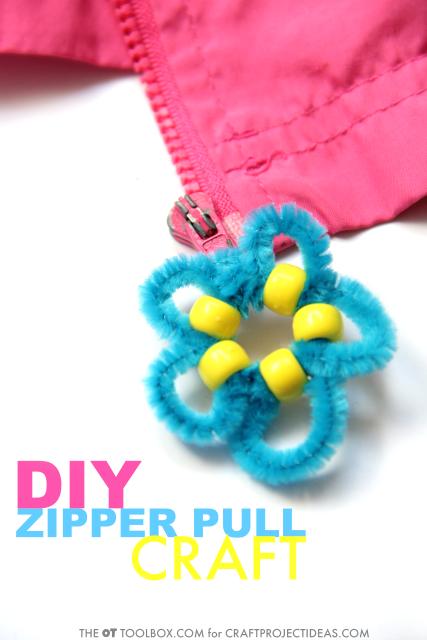 Zipper pull craft