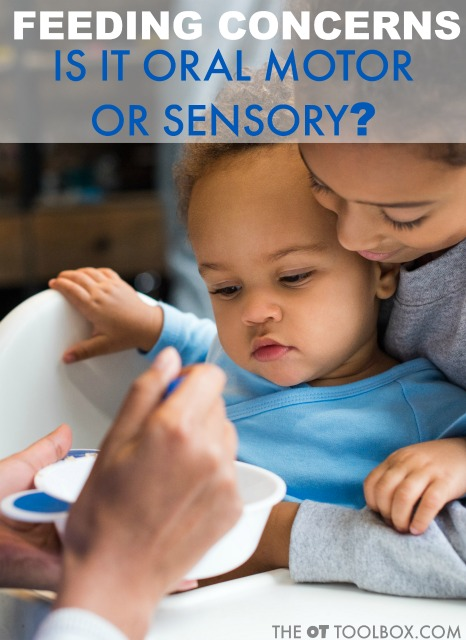 Occupational therapists and parents often wonder if feeding problems are related to sensory issues or oral motor skills. This article on pediatric therapy addresses that question.