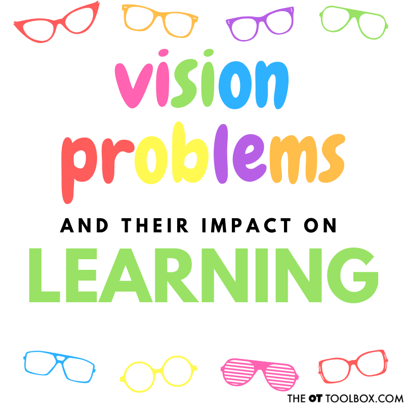 Learning Difficulties can Imply Underlying Vision Problems. Here are common vision problems that can affect learning in kids.