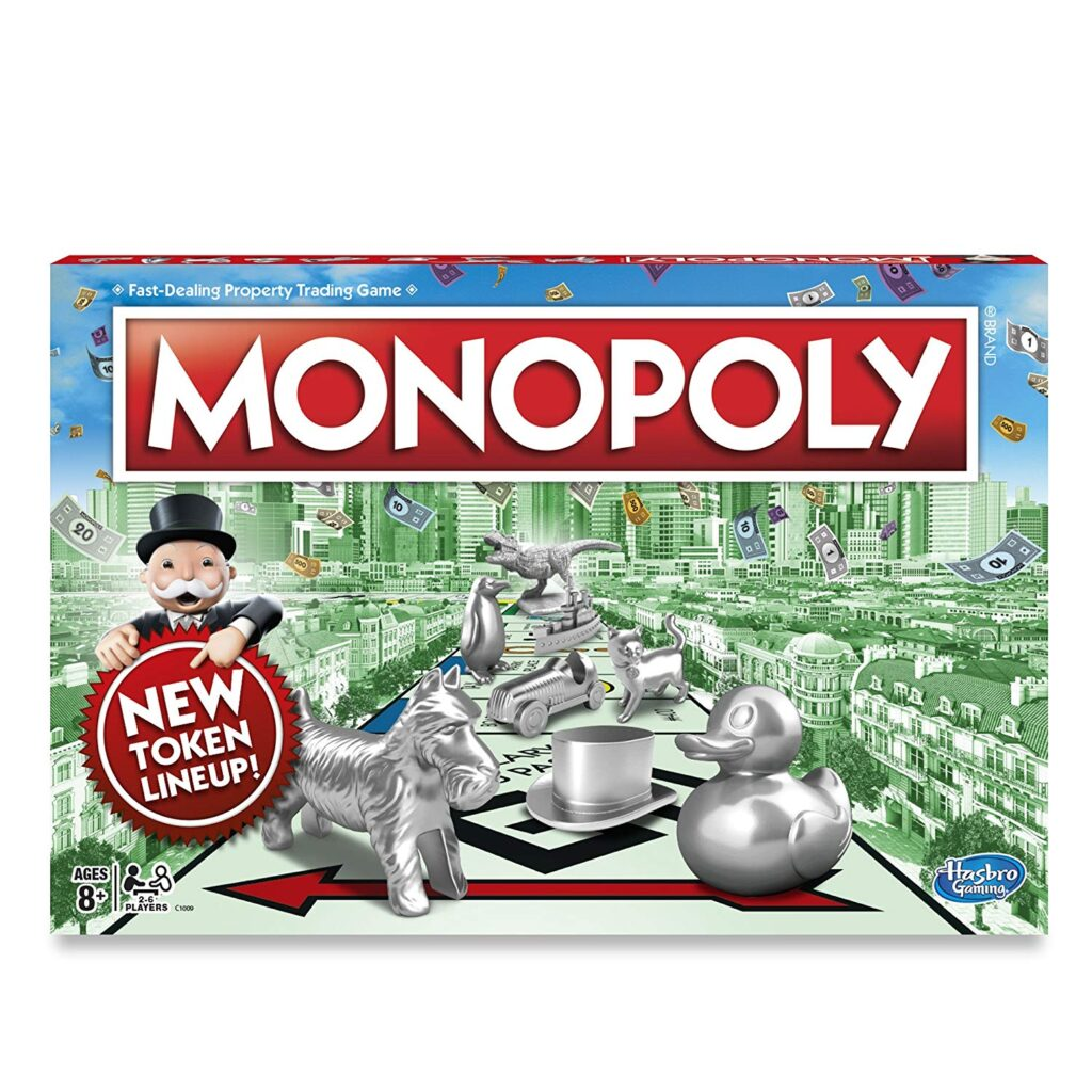 Monopoly is  game to help with executive function disorder and executive functioning skills like foresight.