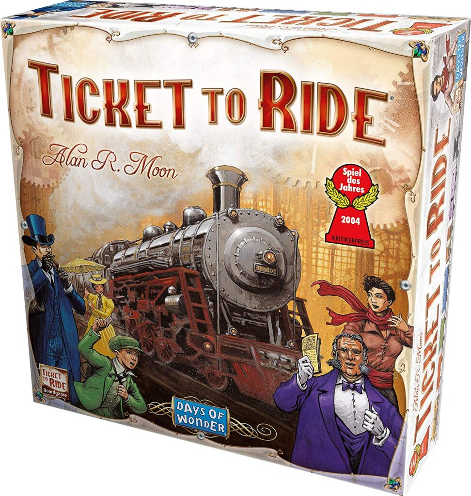 Play the game Ticket to Ride to teach foresight and help with executive function disorder.