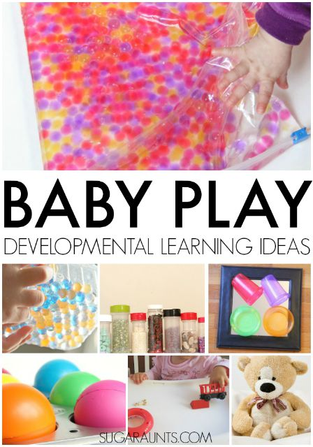 Baby play ideas for developmental learning and occupational therapy in birth-2 years