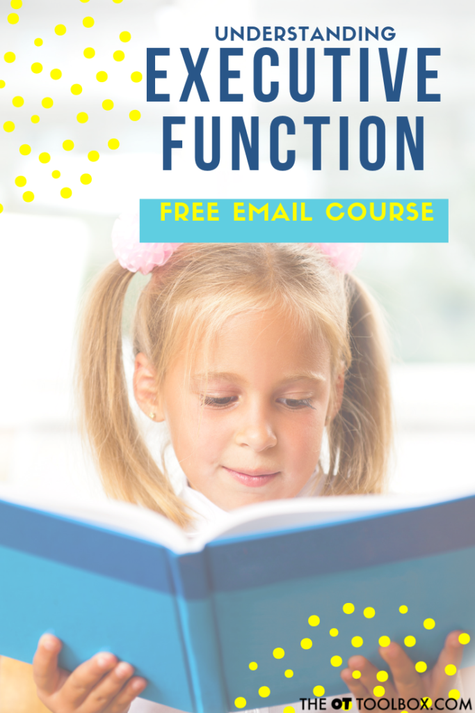 Executive functioning skills course for understanding executive function and strategies to help