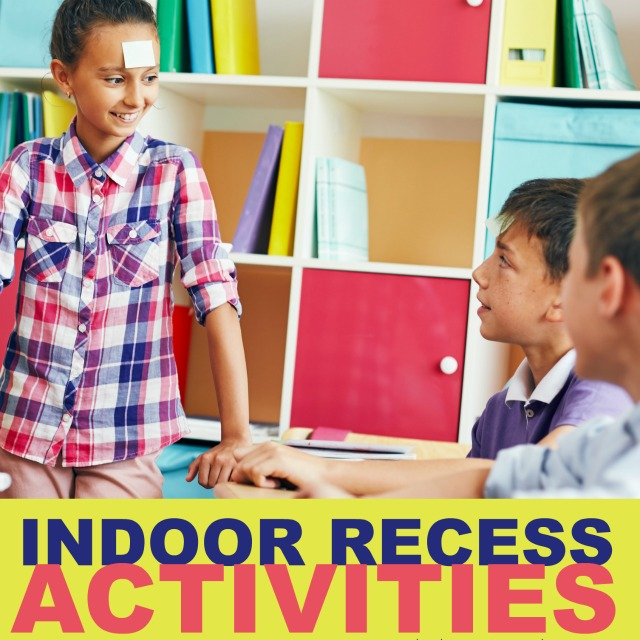 Add gross motor play and activities to the classroom with indoor recess ideas that get the kids moving.
