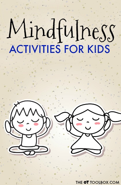 These FUN Mindfulness activities are helpful self-regulation tools for kids.