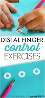 Distal Finger Control Exercises